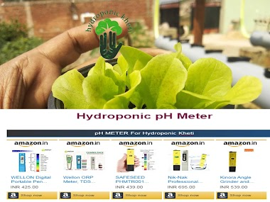Hydroponic Kheti Measuring Instruments | Hydroponic Kheti In Jharkhand | Hydroponic Farming