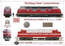 NoHAB-V200 Bulldog Nose Locomotives