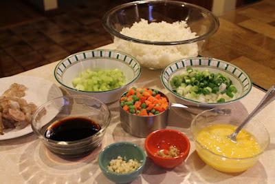 Shrimp Fried Rice Ingredients