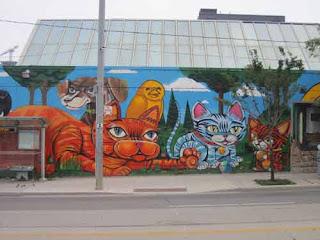 Cats & Uber 5000's Bird Toronto Humane Society Mural