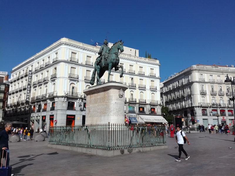 Foto: La statua equestre di Carlo III - Madrid