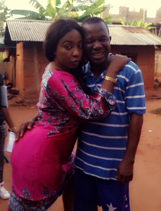 chiwetalu agwu grabs anita joseph's butt