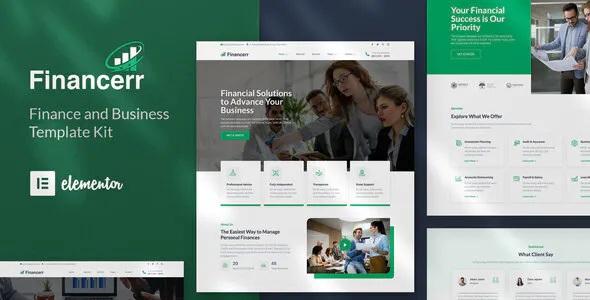 Best Business & Finance Template Kit