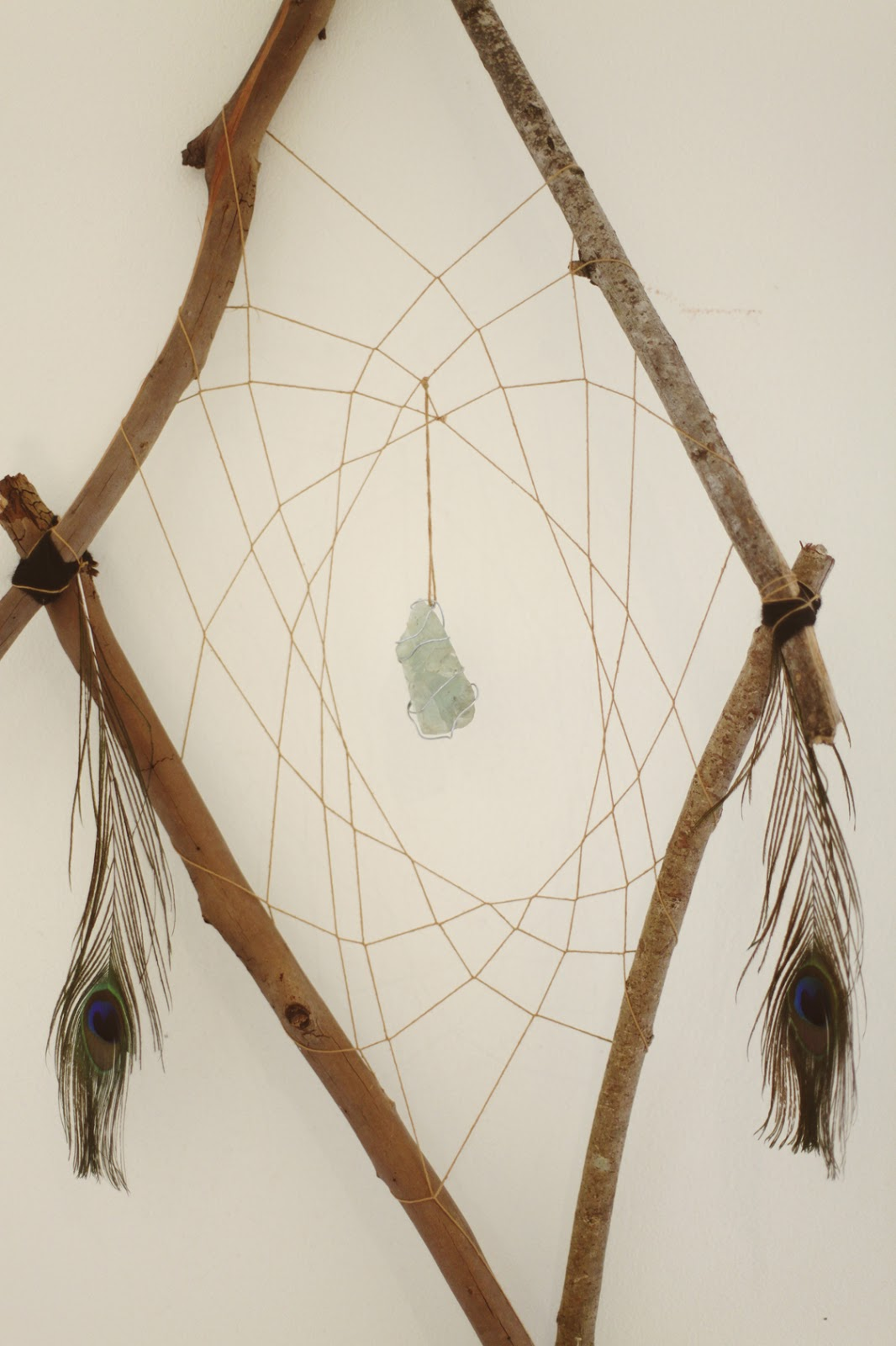 Handmade Dream Catchers by Renee Carey: Throat Chakra Dream
