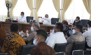 Rapat Evaluasi Seluruh OPD Sumut, Gubernur Edy Rahmayadi Minta Para Pimpinan OPD Turun ke Desa-desa