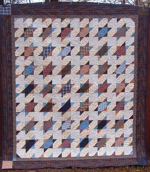 Smokey Mountain Stars Quilt designed by Bonnie Hunter of QuiltVille