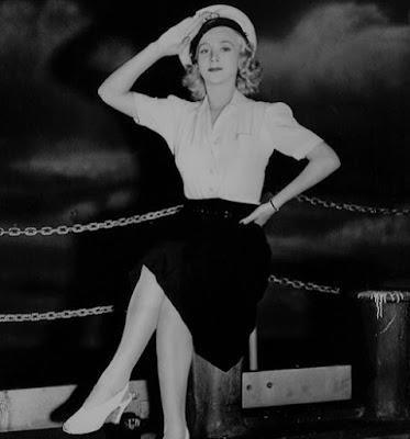 Carole Landis Mystery Sea Raider