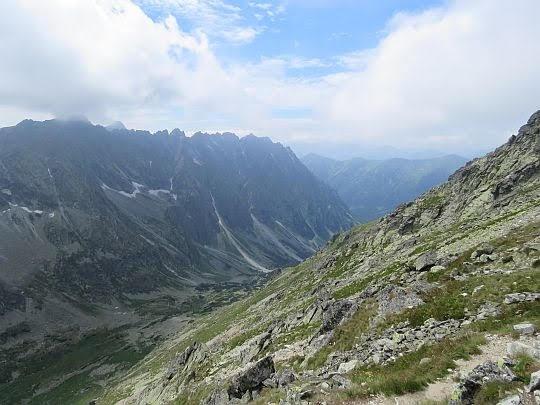 Dolina Hlińska (słow. Hlinská dolina).