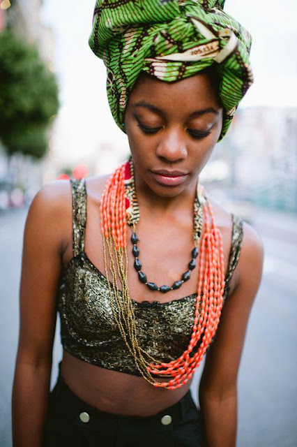 Natural Hair Fitness Inspiration Food Head Wrap My