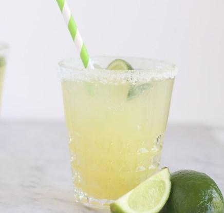 Margarita Mocktail Recipe #drinks #nonalcoholic