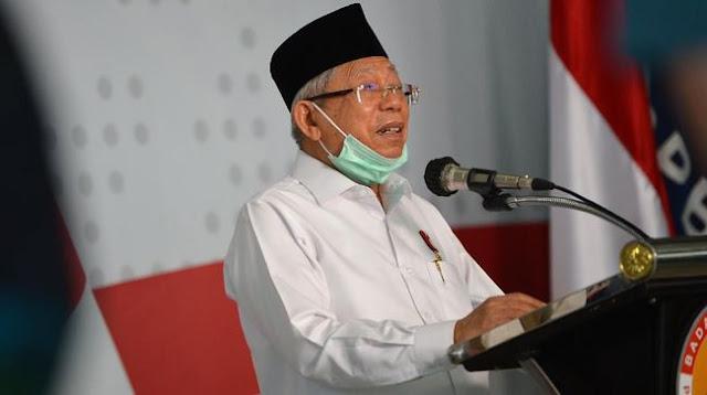Kyai Ma'ruf Amin Sebut Tak Masalah Jika Vaksin Corona dari China Tak Halal