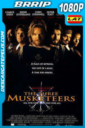Los tres mosqueteros (1993) 1080P BRrip Latino – Ingles
