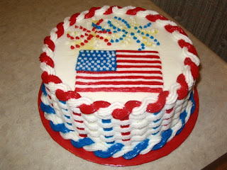 happy 4th of july cake pictures for whatsapp, facebook