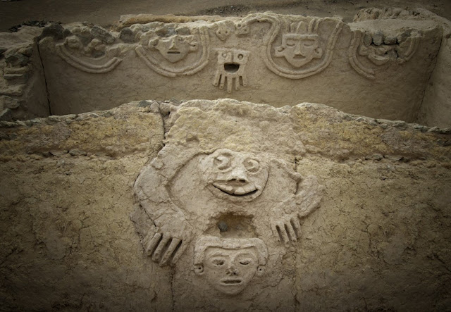 3,800-year-old relief discovered in Peru