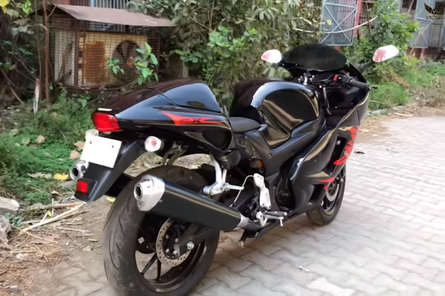 This Bajaj Pulsar 180 Modified to Look Like Suzuki Hayabusa is Eerily Convincing - Hire A Virtual Assistant