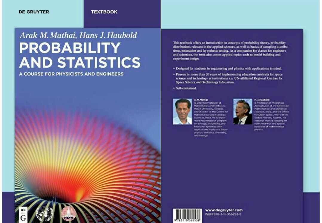(PDF, 773 Pages, 5MB) Download Best Probability and Statistics Textbook For Post & Undergraduate Students