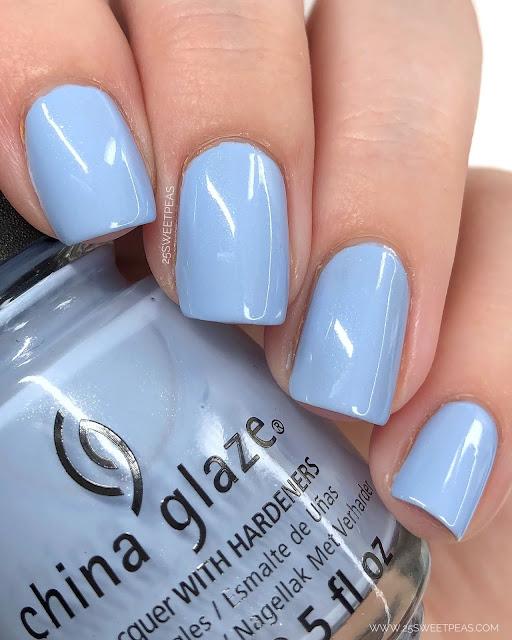 China Glaze Hydrangea Dangea 25 Sweetpeas