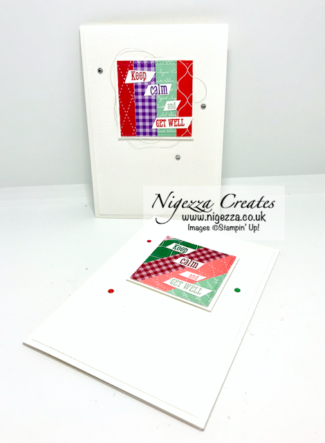 Nigezza Creates with Stampin' Up! and Happy Tails & Well Said & Scraps