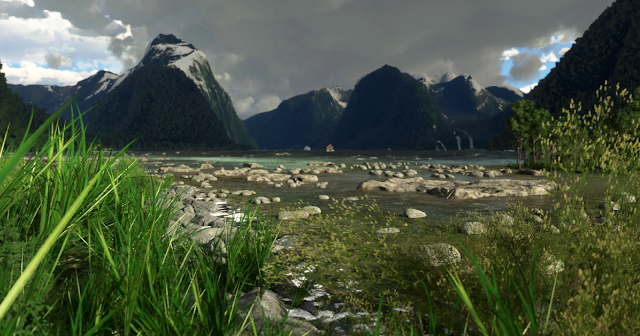 [MSFS] Milford Sound Airport NZMF New Zealand