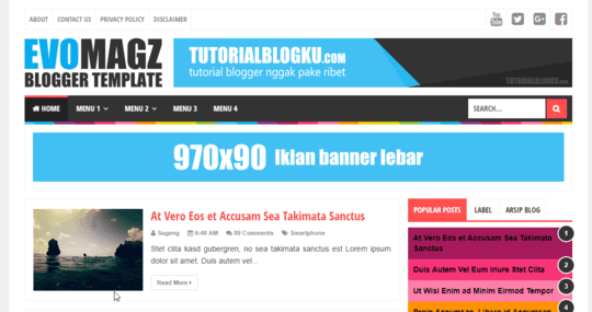 Download Template Evo Magz