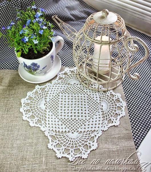 Bella carpeta cuadrada al crochet   Crochet y Dos agujas - Patrones ...