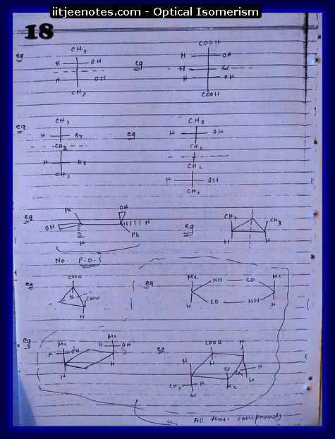 Optical Isomerism Notes 1