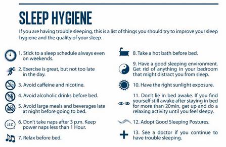 Printables Sleep Hygiene Worksheet sleep hygiene therapists hygienerem calculatorcircadian rhythm meaning plans download