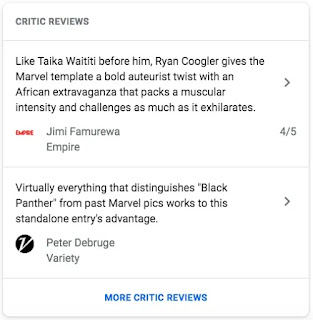 Google Search Gallery : Critic Review