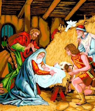 weihnachten, winter: geburt von jesus christus