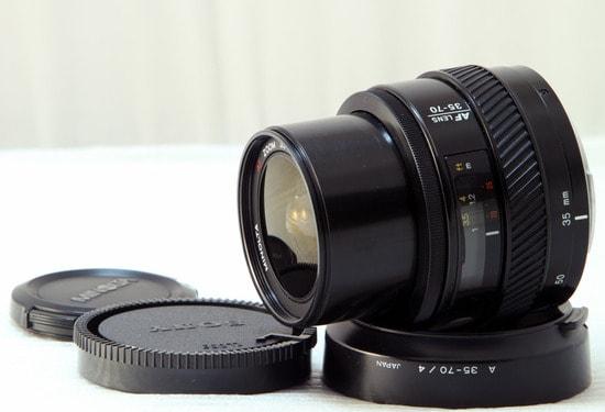 Lens minolta 35-70f4 macro