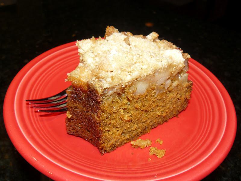 Recipes 4 My Daughters Pumpkin Apple Streusel Cake
