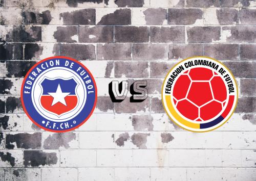 Chile vs Colombia  Resumen