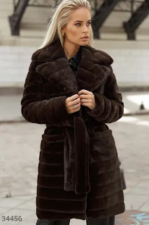 Дамско Палто от еко косъм - Twiggyshop
