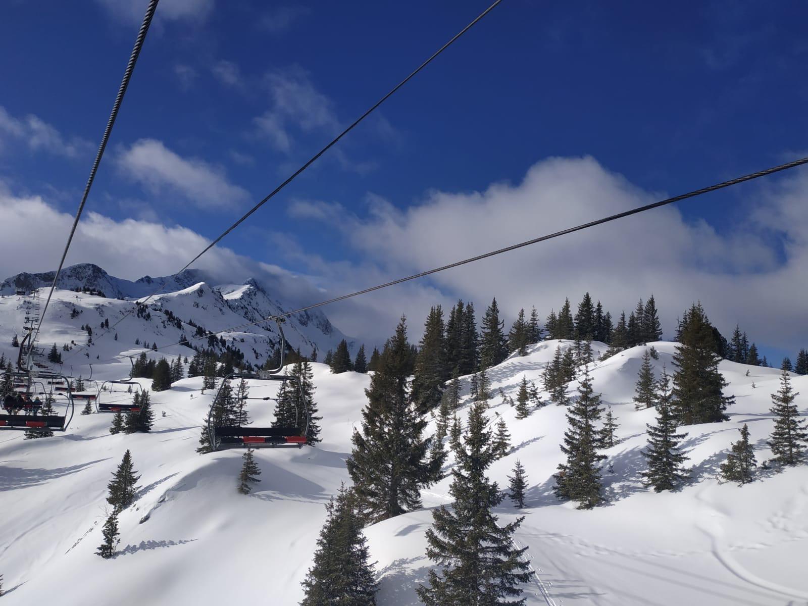 ski Arêches beaufort