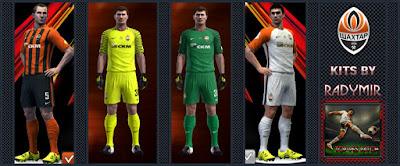 FC Shakhtar kits 16-17