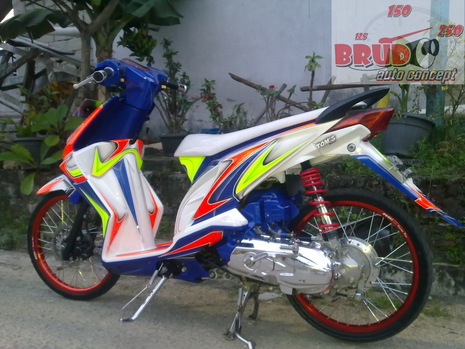 Foto Modifikasi Motor Thailook Modifikasi Motor Beat Terbaru