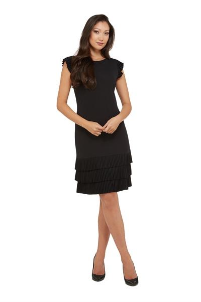 7fcd84adc50 Peter Nygard Monica Pleated Jersey Dress