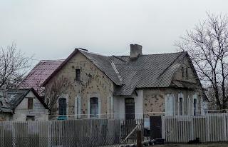 Зупинний пункт Чунишине Краснолиманської дирекції Донецької залізниці. Житловий будинок