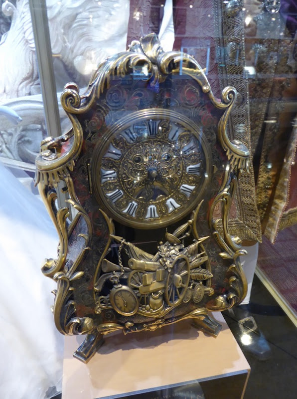 Cogsworth clock movie prop Beauty and the Beast