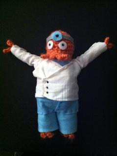 Zoidberg free crochet pattern