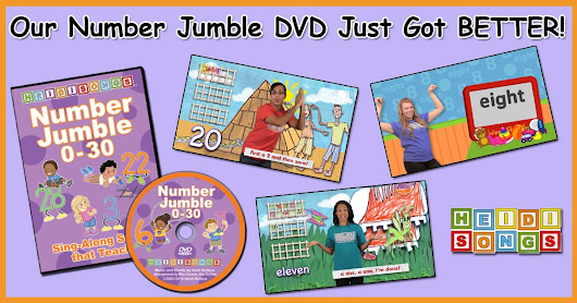 Our Number Jumble DVD Just Got BETTER!
