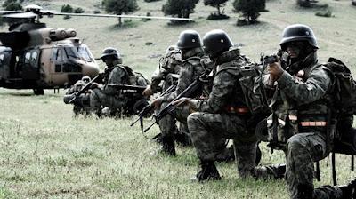 Turki Luncurkan Operasi Bantai Milisi Komunis Kurdi
