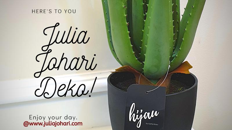 Pokok Hiasan Viral Aloe Vera Artificial Plant | Julia Johari Deko !