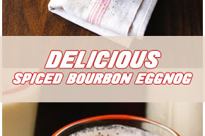 Delicious Spiced Bourbon eggnog Recipe