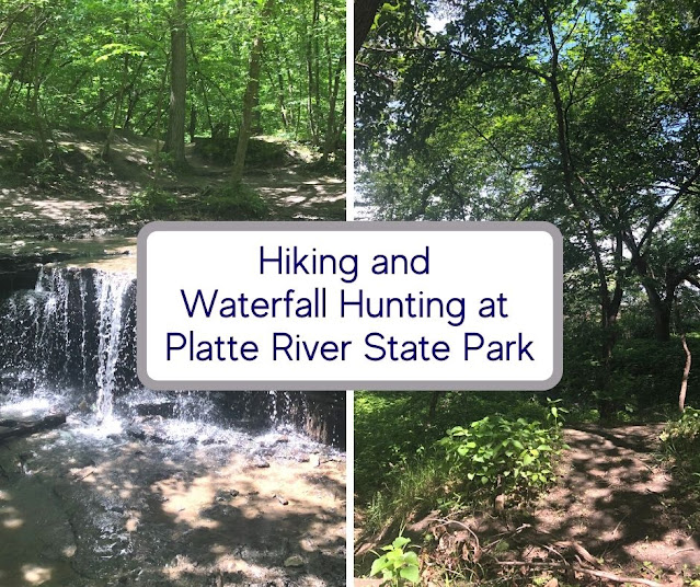 Nebraska Waterfall and Splendid Hiking Entice at Platte River State Park