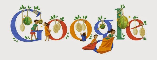 Google Doodle Untuk Hari Kemerdekaan Republik Indonesia ke 67 Tahun 2012