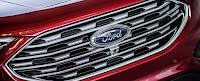 2019 Ford Edge Titanium grille