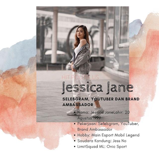 Jessica Jane Biodata