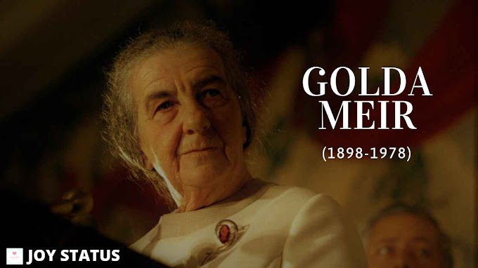 Top 20 Golda Meir Quotes