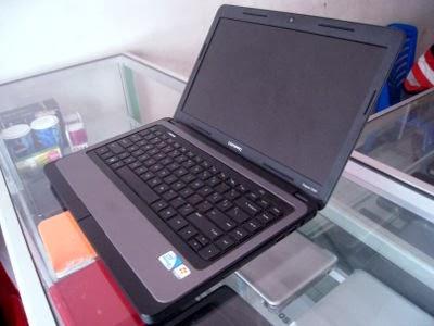Jual laptop bekas compaq cq43